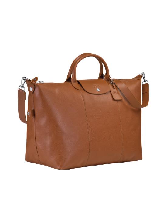 Longchamp - Le Foulonné Travel Bag - Nahkalaukku - CARAMEL | Stockmann - photo 2