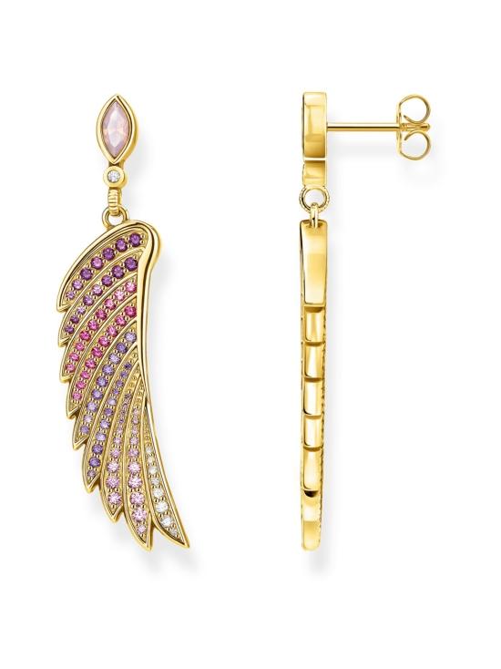 Thomas Sabo - Thomas Sabo Earrings bright gold-coloured hummingbird wing -korvakorut | Stockmann - photo 1