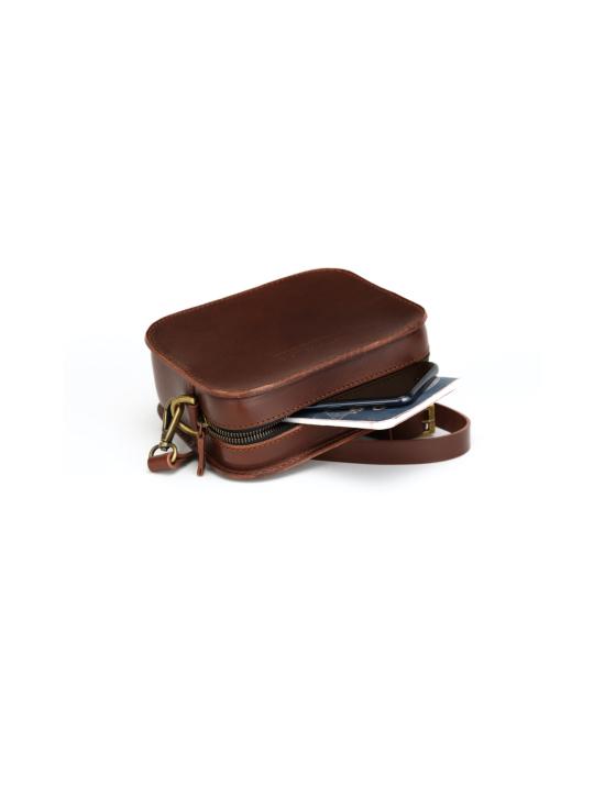 MOIMOI accessories - SOFIA crossbody laukku ruskea - RUSKEA | Stockmann - photo 2