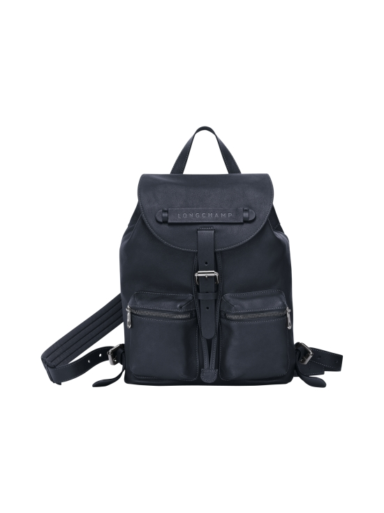 Longchamp - Longchamp 3D - Backpack S - Nahkareppu - MIDNIGHT BLUE | Stockmann - photo 1