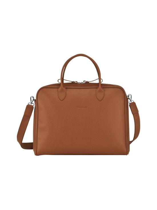 Longchamp - Le Foulonné - Briefcase M - Salkku - CARAMEL   Stockmann - photo 1