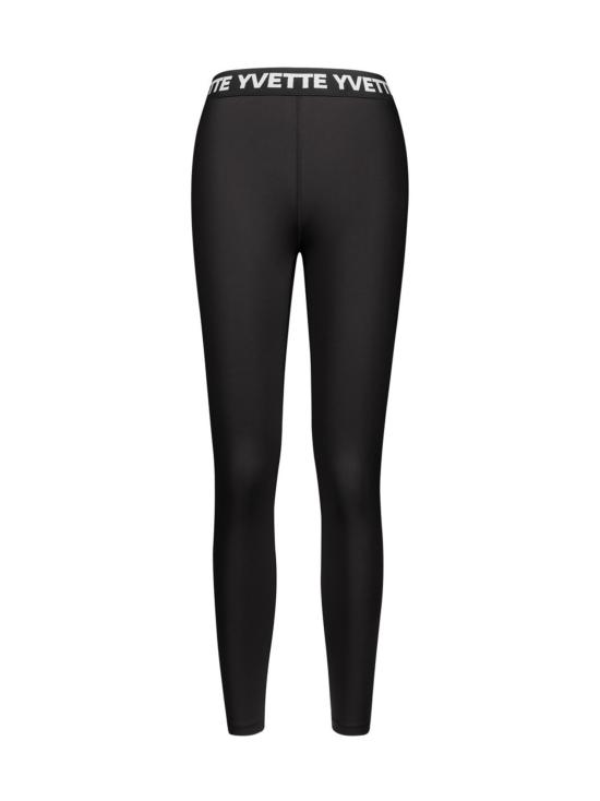 Yvette Alexandra saumaton leggings, musta