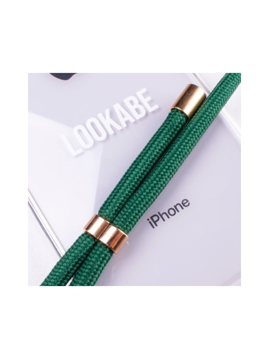 LOOKABE - Phone Necklace kotelo + kaulanauha Iphone 8/7 - CLEAR/GREEN | Stockmann - photo 2