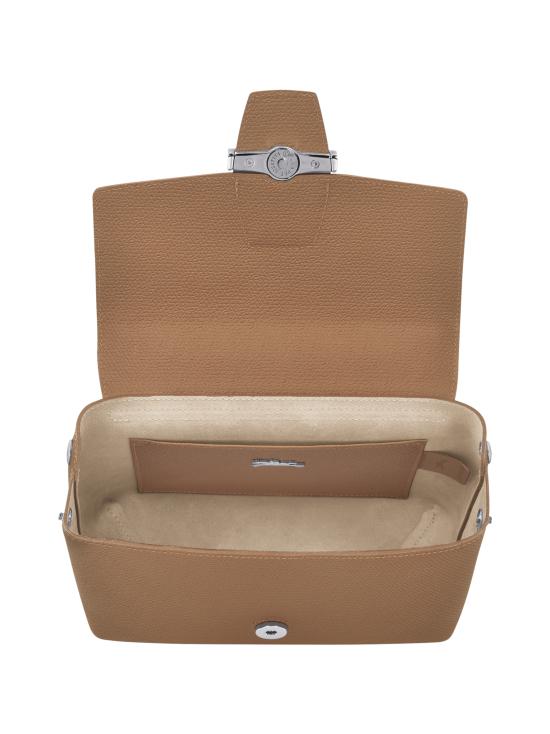 Longchamp - Roseau - Crossbody bag S - Nahkalaukku - NATURAL | Stockmann - photo 5