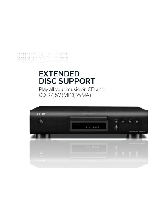Denon - Denon DCD-600NE CD-soitin, hopea | Stockmann - photo 4