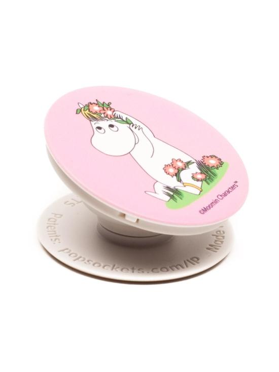 Popsockets - PopSockets Moomin with Flowers -puhelimen pidike - VAALEANPUNAINEN | Stockmann - photo 3