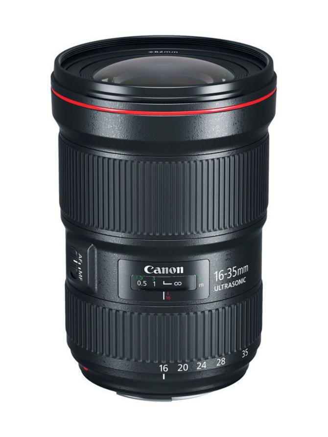 Canon EF 16-35mm f/2.8 L USM III -laajakulmazoom