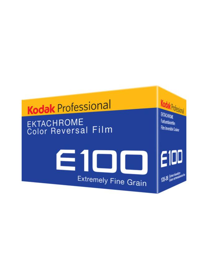 Kodak Ektachrome E100 36 kuvaa -diafilmi