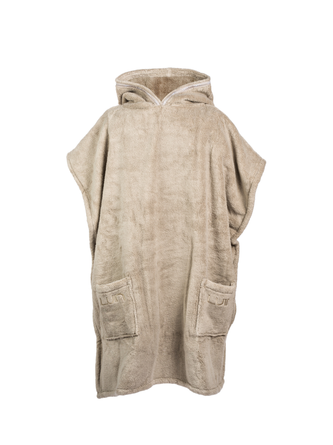 Your Home I Your Spa Grande Poncho Unisex Sand