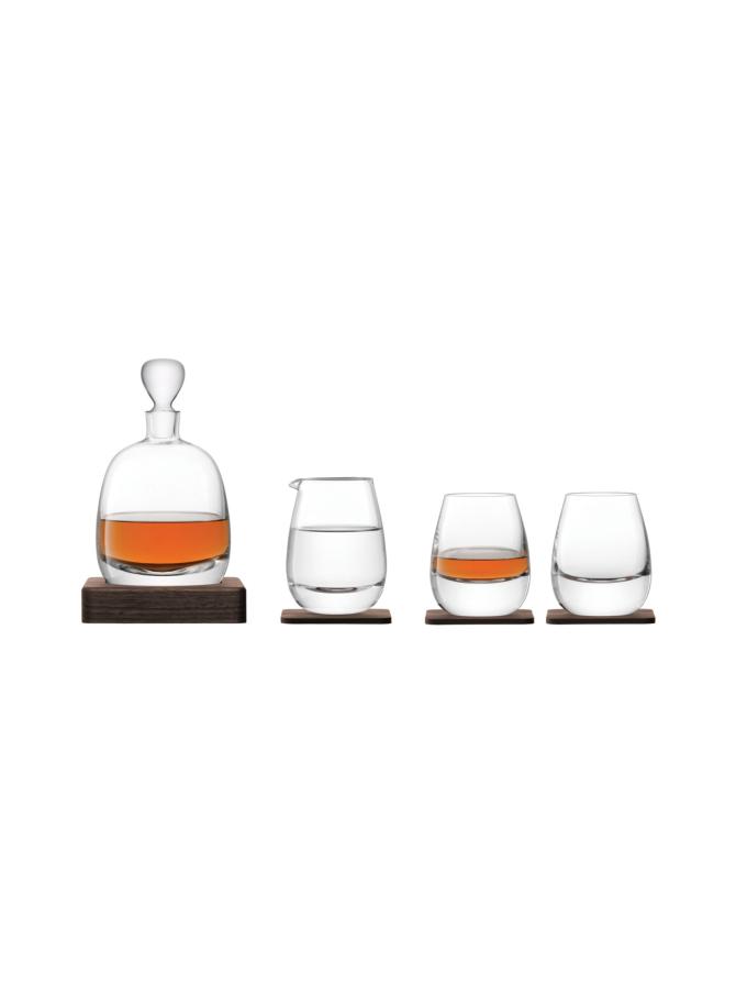 Viskisetti Whisky Islay Karahvi, Kannu ja 2 lasia