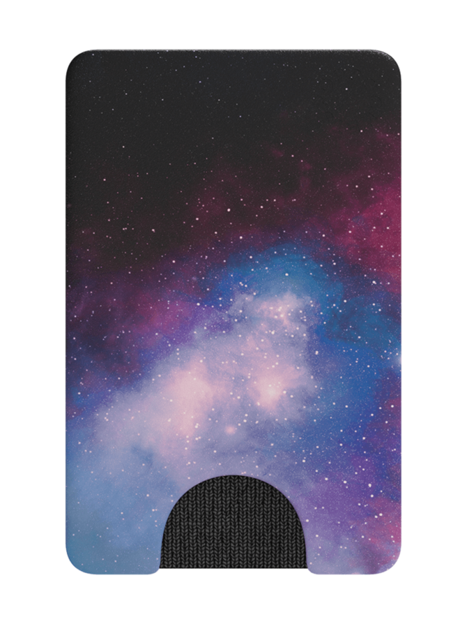 PopWallet Blue Galaxy - korttikotelo