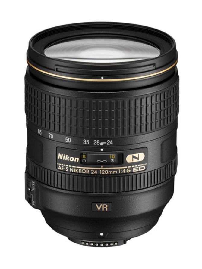Nikon AF-S Nikkor 24-120 f/4G ED-IF VR