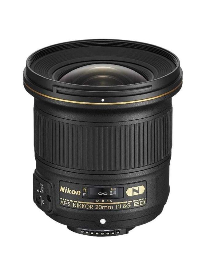 Nikon AF-S Nikkor 20mm f/1.8G ED -objektiivi