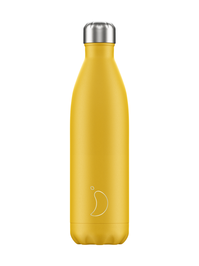 Matte Burnt Yellow -juomapullo 750 ml