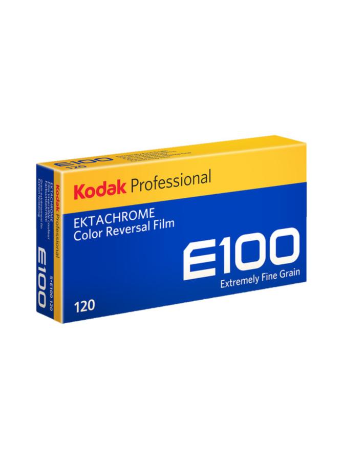 Kodak Ektachrome E100 120X5 -diafilmi