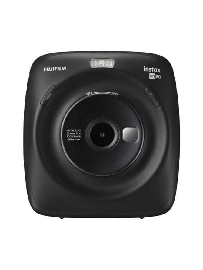 Fujifilm Instax Square SQ20 pikakamera - Musta