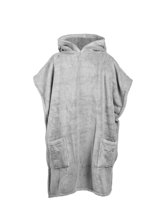 Your Home I Your Spa Grande Poncho Unisex Pearl Grey