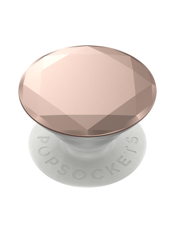 PopSockets Grip Metallic Diamond Rose Gold -puhelimen pidike