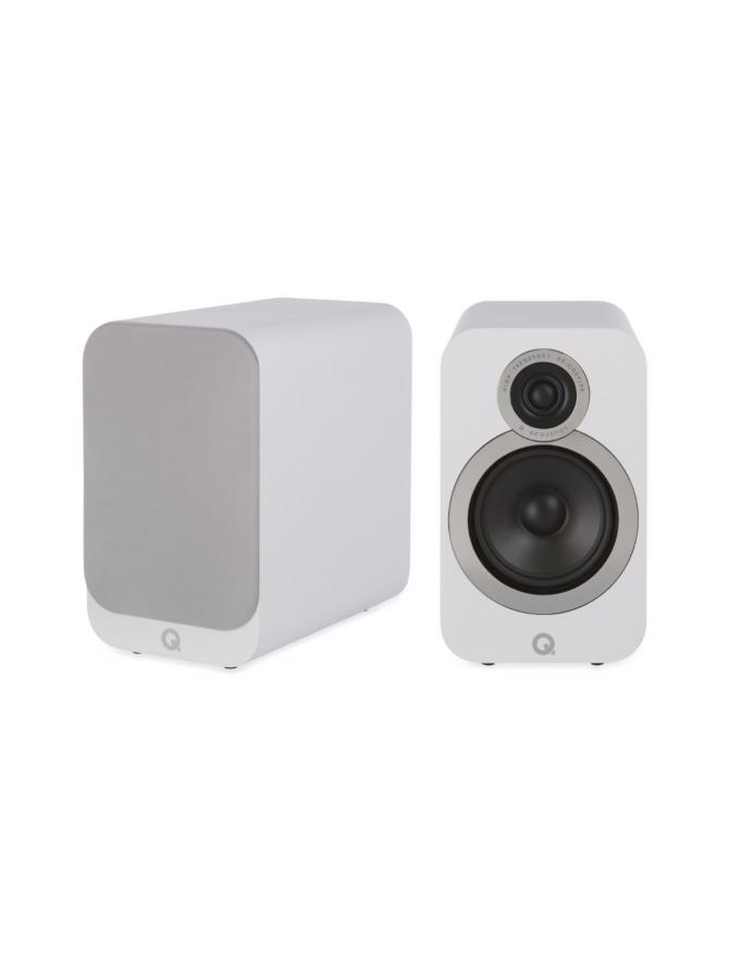 Q Acoustics Q3020i hyllykaiutin, valkoinen