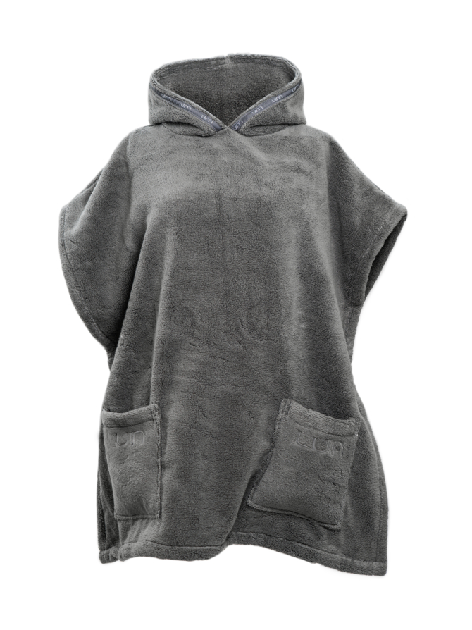 Your Home I Your Spa Casual Poncho Unisex Granite