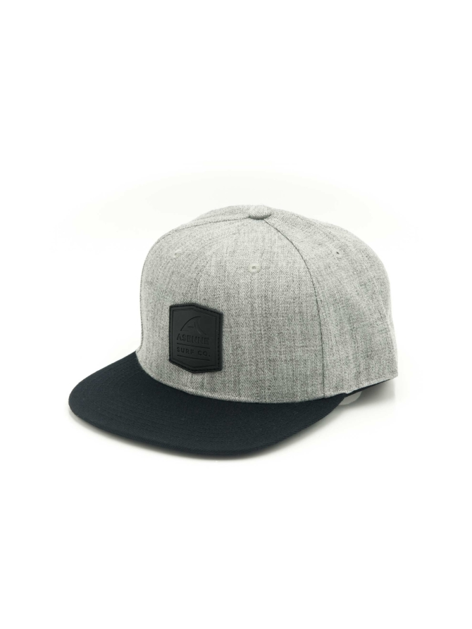 Surf Co. gray snapback