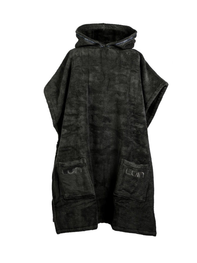 Your Home I Your Spa Grande Poncho Unisex Black