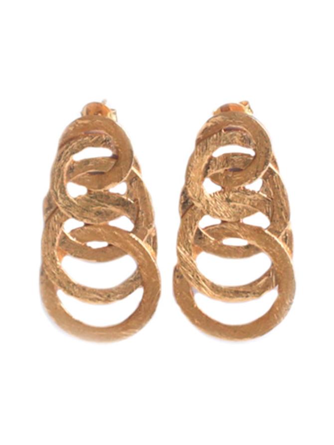 Large Gold Infinity Hoop-korvakorut