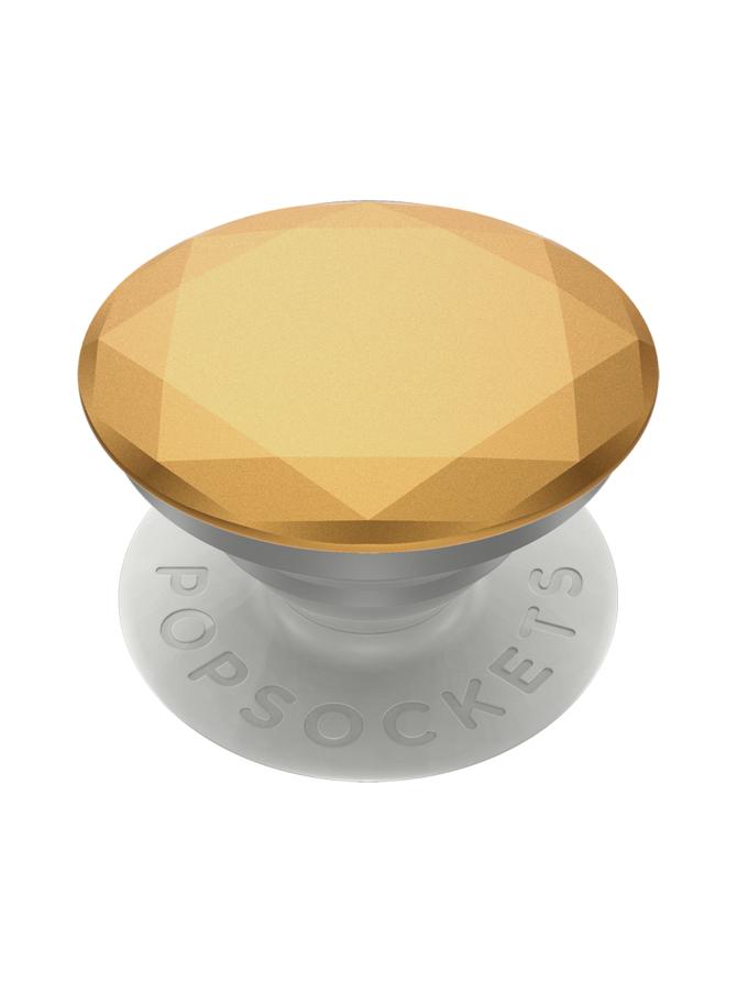 PopSockets Grip Metallic Diamond Medallion Gold -puhelimen pidike