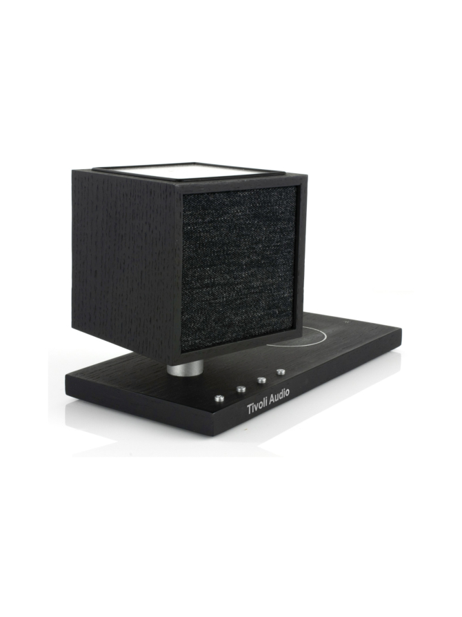 Tivoli Audio Revive Bluetooth-kaiutin, LED-valo ja Qi-laturi, musta