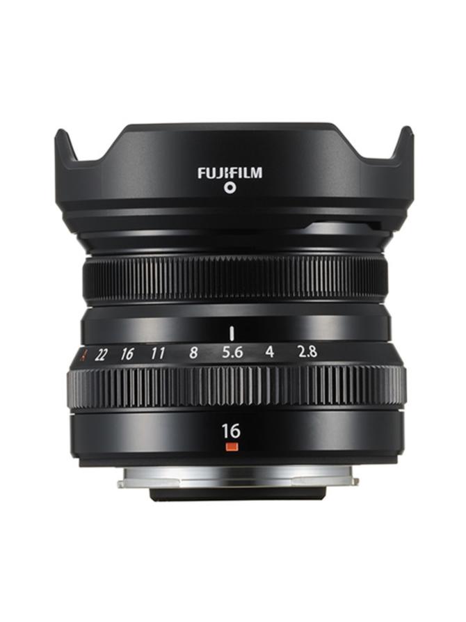 FujiFilm XF 16mm f/2.8 R WR -objektiivi - Musta