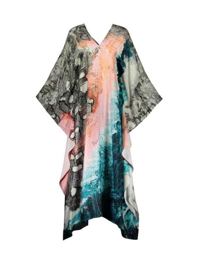 REIDAR scarf dress