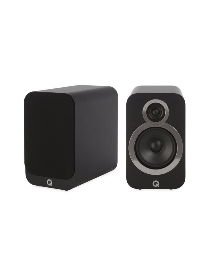 Q Acoustics Q3020i hyllykaiutin, musta