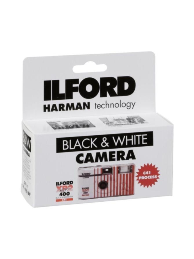 Ilford XP2 kertakäyttökamera 27 kuvan mustavalkoisella filmillä