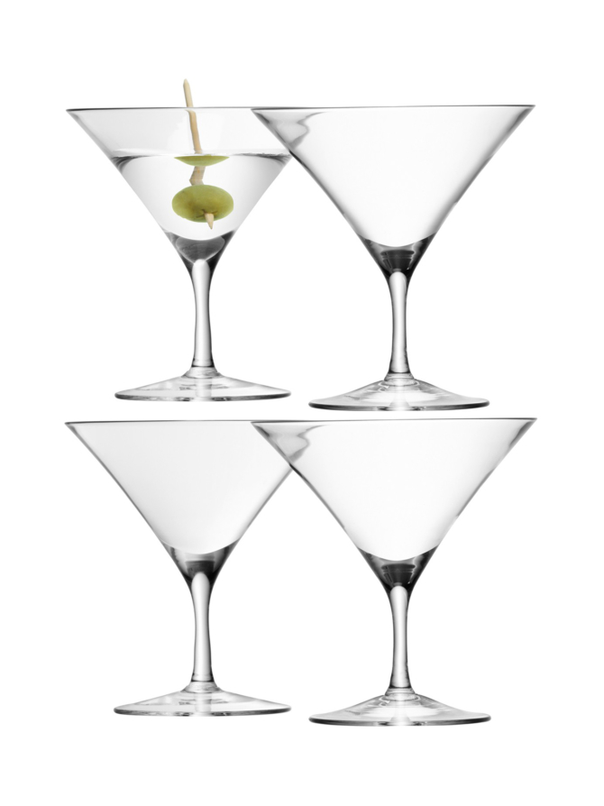 Martinilasi LSA Bar Martini Glass (4 kpl)