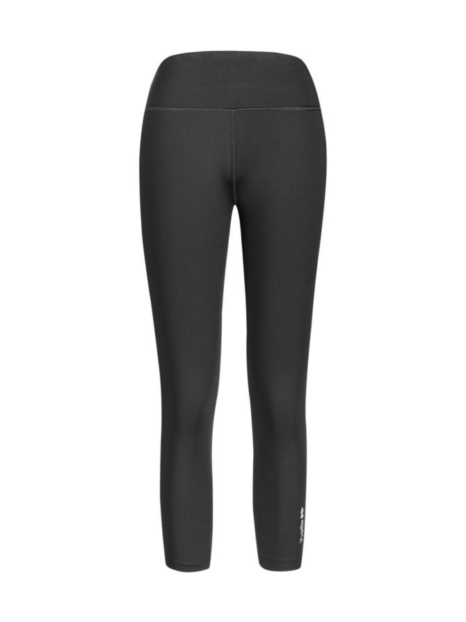 Yvette Capri leggings, musta