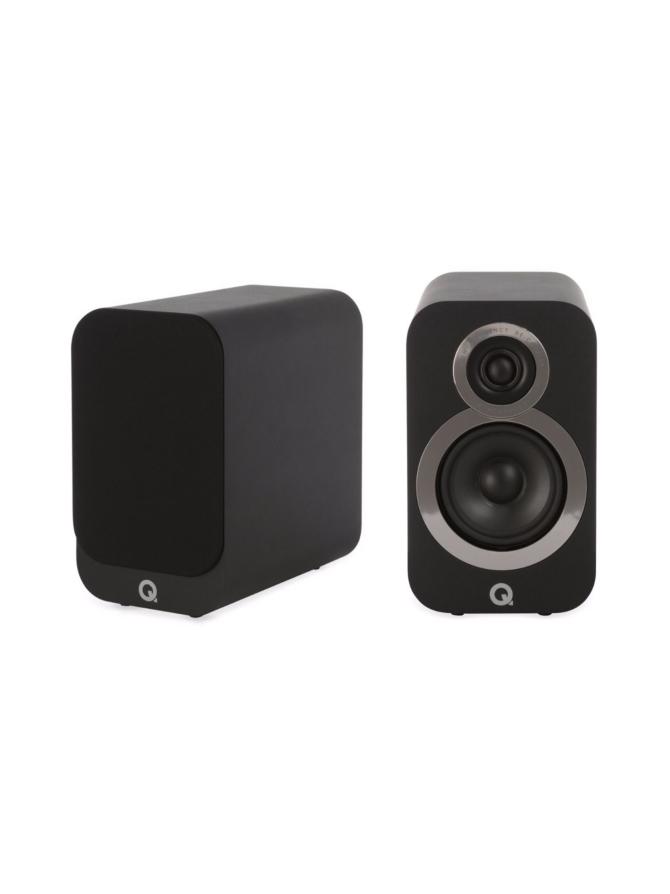 Q Acoustics Q3010i hyllykaiutin, musta