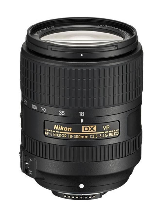 Nikon AF-S Nikkor DX 18-300mm f/3.5-6.3G ED VR