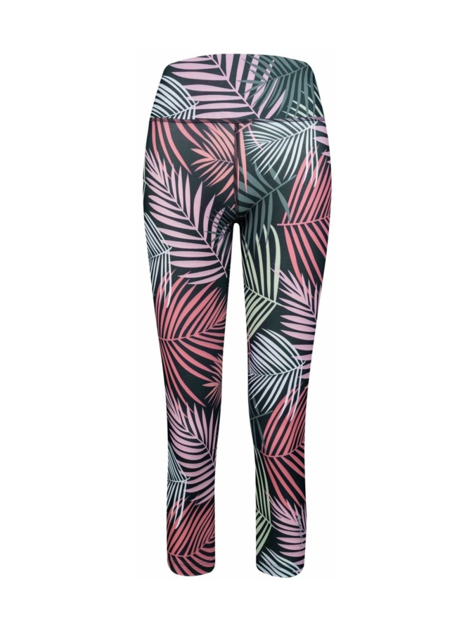 Yvette Tropic caprileggings, monivärinen