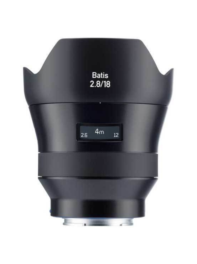 Zeiss Batis 18mm f/2.8 (Sony E/FE) -objektiivi