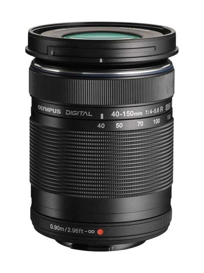 Olympus M.Zuiko Digital ED 40-150mm f/4.0-5.6 R - musta