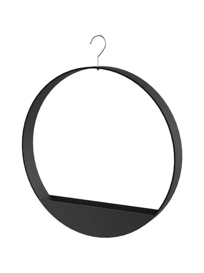 Magisso Element No.2.0 Musta Vaateripustin, ympyrä