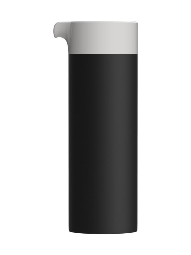 Magisso Cooling Ceramics Karahvi, 0,75 litraa, musta-valkoinen + maitokannu 0,4 litra