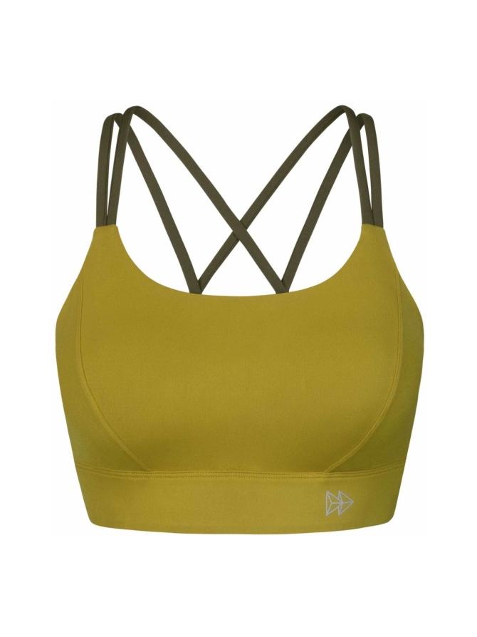 Yvette Soft Gold urheilurintaliivi, kulta