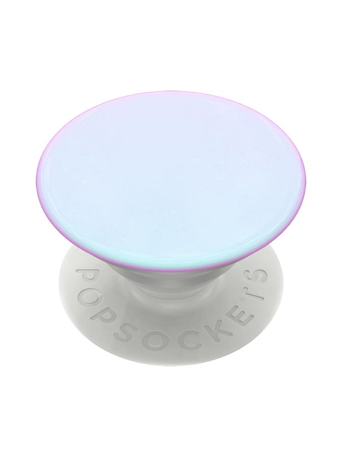 PopSockets Grip Color Chrome Mermaid White -puhelimen pidike
