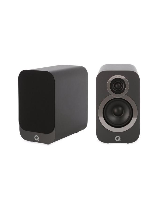 Q Acoustics Q3010i hyllykaiutin, harmaa