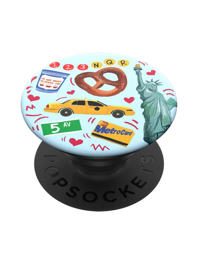 PopSockets Grip New York -puhelimen pidike