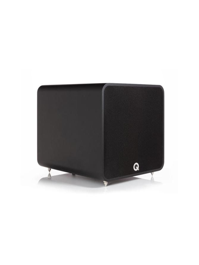 Q Acoustics Q B12 aktiivisubwoofer, musta