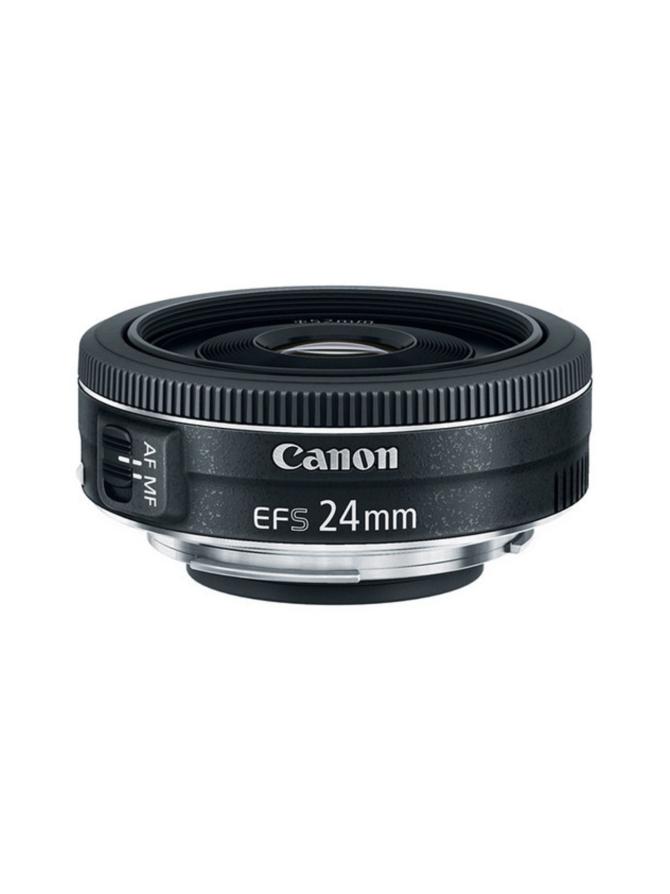 Canon EF-S 24mm f/2.8 STM pannukakku-objektiivi