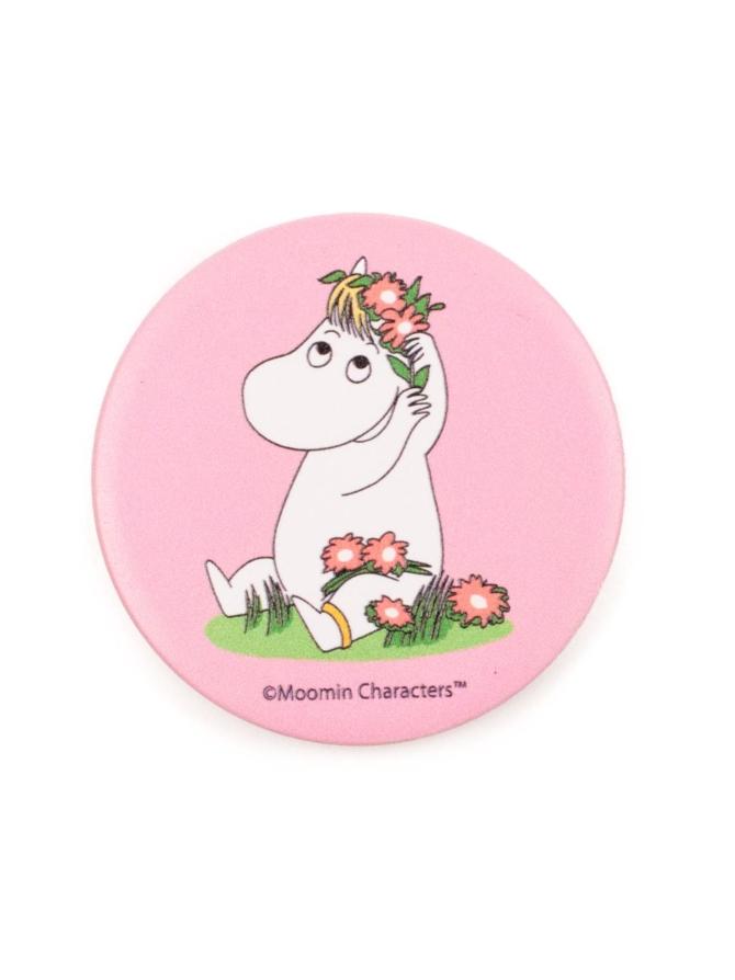 PopSockets Moomin with Flowers -puhelimen pidike