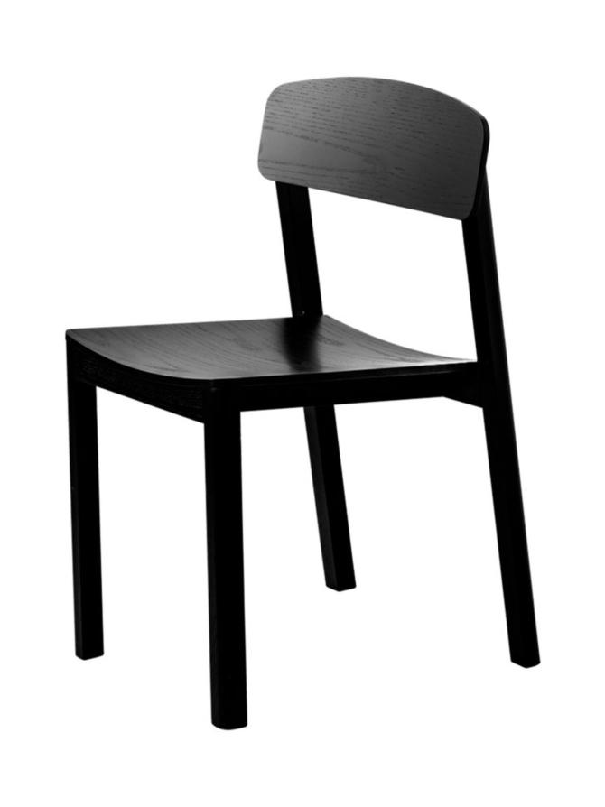 Halikko tuoli musta